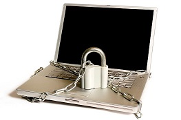 Locked Laptop Small