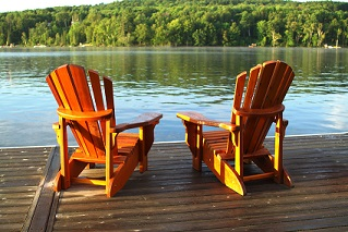 Chairs On Dock