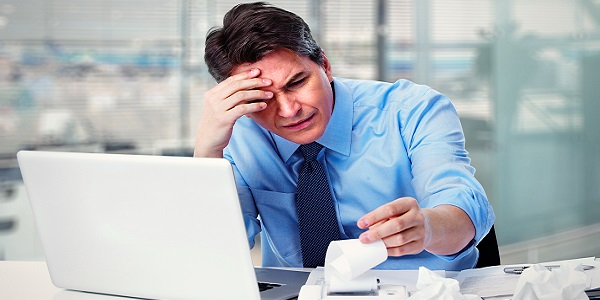Frustrated Man With Laptop 600px