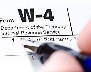 Looking For The 2018 Form W-4? Sit Tight!