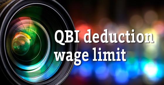 QBI Deduction Wage Limit