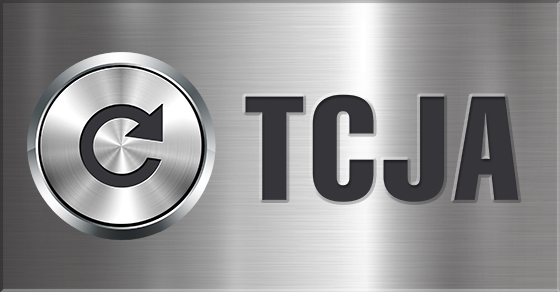 TCJA On Brushed Silver Background
