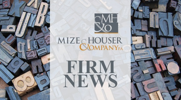 Mize Houser Announces Promotions Among Professional Staff
