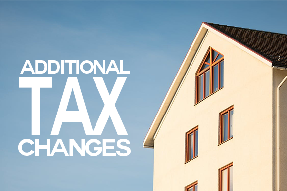 Additional Tax Changes with a house